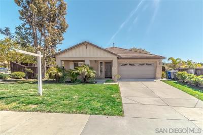 Oceanside Single Family Home For Sale: 980 Manteca Dr