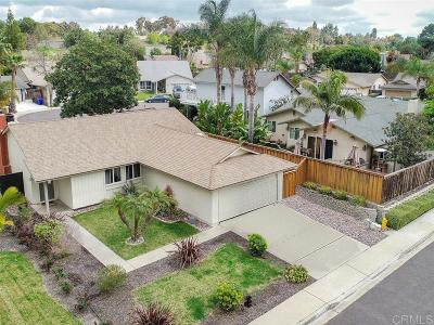 San Diego Single Family Home For Sale: 15566 Paseo Jenghiz