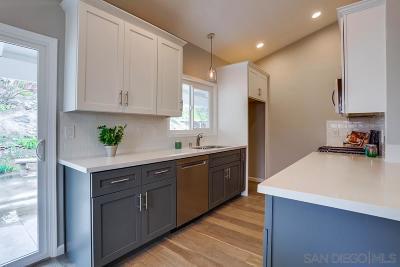 San Diego Single Family Home For Sale: 6871 Jackson Dr