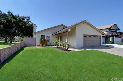 Chula Vista Single Family Home For Sale: 1335 Santa Cruz