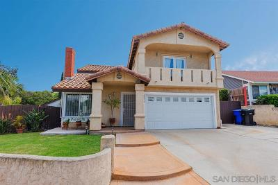 San Diego Single Family Home For Sale: 6575 Garber Ave