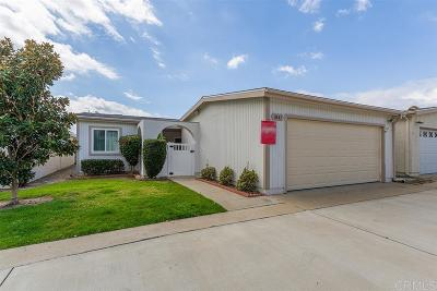 Oceanside Single Family Home For Sale: 3841 Rosemary Wy