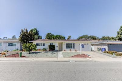 San Marcos CA Single Family Home For Sale: $505,000