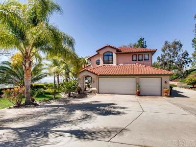 Single Family Home For Sale: 15769 Creek Hills Rd.