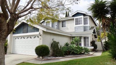 San Diego Single Family Home For Sale: 7963 Tinaja Ln