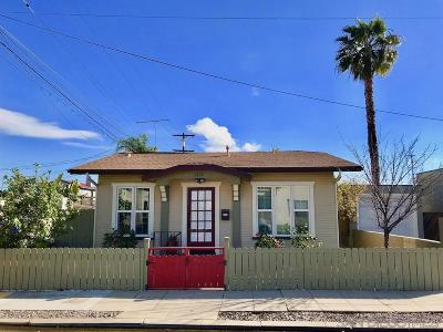 San Diego Single Family Home For Sale: 3215 Myrtle Avenue