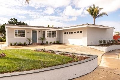 San Diego Single Family Home For Sale: 4611 Mount La Platta