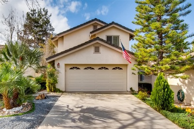 Escondido Single Family Home For Sale: 1867 Cathedral Gln