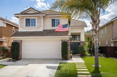 Escondido Single Family Home For Sale: 8851 Nandina Court