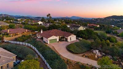 Escondido Single Family Home For Sale: 2945 Rue Montreux