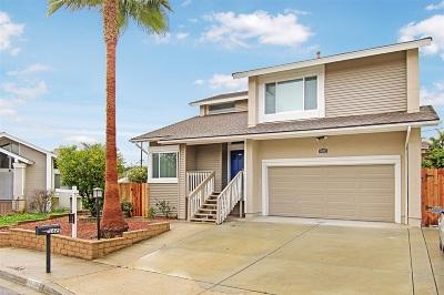 Escondido Single Family Home For Sale: 1629 Hawkridge Place