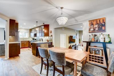 Clairemont, Clairemont East, Clairemont Mesa, Clairemont Mesa East Single Family Home For Sale: 3896 Marlesta