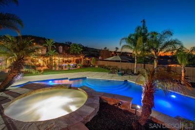 Escondido Single Family Home For Sale: 3258 Hidden Estate