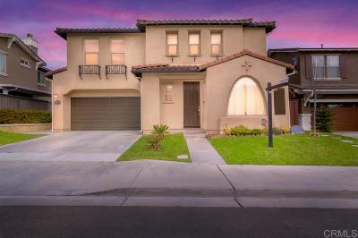Chula Vista Single Family Home For Sale: 1575 Voyage Dr