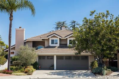 San Diego Single Family Home For Sale: 13293 Courtland Ter