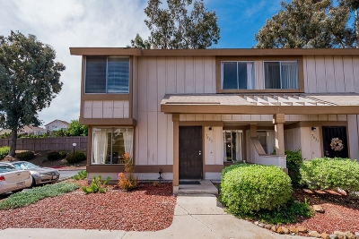 San Diego Townhouse For Sale: 7023 Wattle Dr.