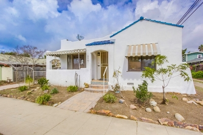 San Diego Single Family Home For Sale: 3318 Dwight Street