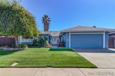 Chula Vista Single Family Home For Sale: 528 Wisteria