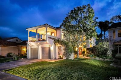 Escondido Single Family Home For Sale: 2414 Fallbrook