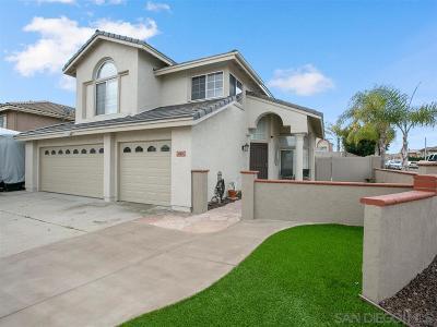 Chula Vista Single Family Home For Sale: 662 Crescent Drive