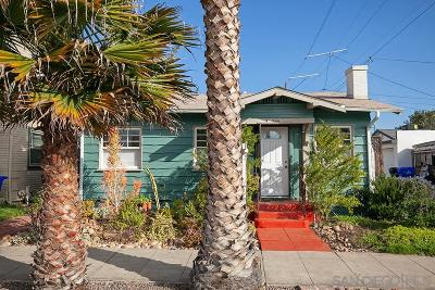 San Diego Single Family Home For Sale: 3216 Landis Street