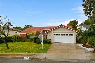 Carlsabd, Carlsbad Single Family Home For Sale: 1012 Foxglove View