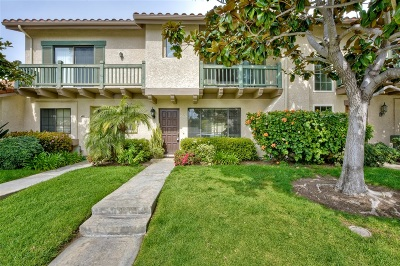 Carlsbad Townhouse For Sale: 6865 Batiquitos Dr