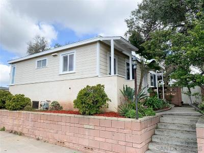 San Diego Single Family Home For Sale: 6912 Morse Court