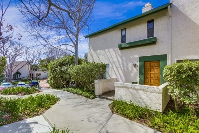 La Jolla CA Townhouse For Sale: $659,000