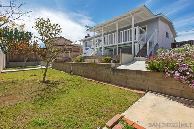 San Diego Single Family Home For Sale: 5341 Constitution Road