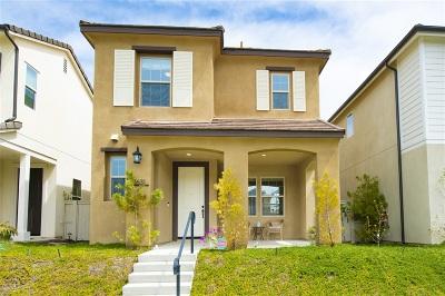 Escondido Single Family Home For Sale: 21631 Trail Blazer Ln