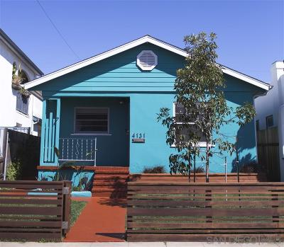 San Diego Multi Family 2-4 For Sale: 4131 Mississippi St