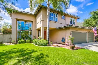 Ramona CA Single Family Home For Sale: $699,000