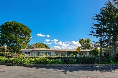 Oceanside,  Carlsbad , Vista, San Marcos, Encinitas, Escondido, Rancho Santa Fe, Cardiff By The Sea, Solana Beach Rental For Rent: 476 Marview Dr