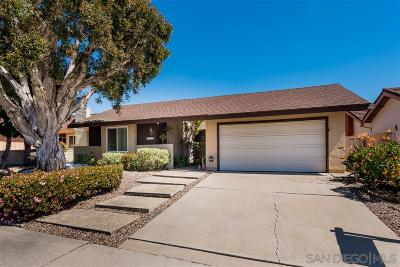 San Diego Single Family Home For Sale: 6219 Syracuse Lane