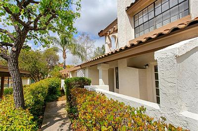 San Diego County Townhouse For Sale: 1651 S S Juniper St #187