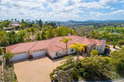 Escondido Single Family Home For Sale: 1087 Canyon Creek Place