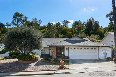San Diego County Single Family Home For Sale: 16143 Selva Drive