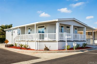San Marcos CA Mobile/Manufactured For Sale: $339,000
