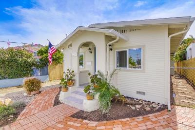 North Park, North Park - San Diego, North Park Bordering South Park, North Park, Kenningston, North Park/City Heights Single Family Home For Sale: 3211 Lincoln Ave