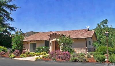 Pauma Valley CA Single Family Home For Sale: $649,000