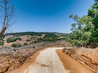 Valley Center Residential Lots & Land For Sale: 6.4 Acres Ridge Creek Rd #2