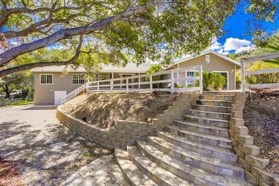 Valley Center Single Family Home For Sale: 29575 Costalota Rd