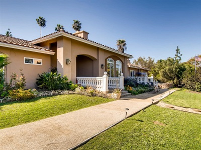 Fallbrook Single Family Home For Sale: 197 Morro Hills Rd