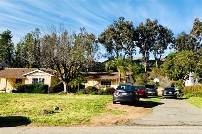 Escondido CA Single Family Home For Sale: $565,000