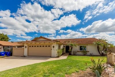 La Mesa Single Family Home For Sale: 10731 Flambeau Pl