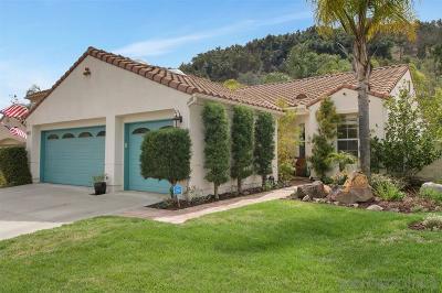 Escondido CA Single Family Home For Sale: $595,000