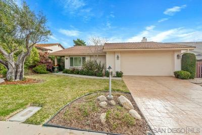 San Diego Single Family Home For Sale: 16945 Vinaruz Place
