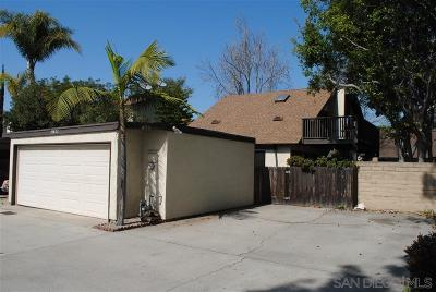 San Diego Single Family Home For Sale: 10823 Escobar Drive