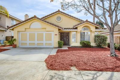 Chula Vista Single Family Home For Sale: 620 Diamond Dr